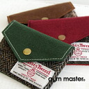"""The card case of good-quality adult using British high quality tweed cloth """"HarrisTweed."""" In the inside does not have the partition, is simple, making it in a pass holder and a pretty good accessory case ◎ / miscellaneous goods / wool ◆ gym master (gym master): Harris Tweed pass case"""