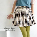 This is a cool polka-dot pattern. The glossy and supple fabric's sweet discreet square dot mini skirt pattern. Spread & clear flare adult ish items / flares / dates / mini skirt ◆ ☆ events during ☆ square dot skirt