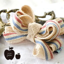 Colon rolled sweet tricolor Ribbon with a natural cotton Ribbon and cute, Ribbon-shaped type hairpin ♪ baby and kids are also recommended mini clips / hair band / hair guard /PM015 ◆ bon bijou POM ( ボンビジューポム ) トリコリボンミニヘア clip