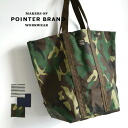 Unisex extra-large tote bag available from denim, a hickory, a camouflage pattern. ☆ Pointer Brand (pointer brand) tote bag [L] during the large-capacity shawl BAG/TOTE-L/ man and woman combined use / Lady's / men / shoulder cliff ◆☆ event who are usable