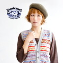 The フエアアイル pattern cardigan best that it is warm, and the color development is good using the traditional dyeing with vegetable dyes. The comfort / haori /V NECK CARDIVEST/fs3gm ◆ Jamieson's (ジャミーソンズ) V neck front button Fair Isle knit best mild warmly o