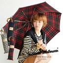 Grip bamboo materials harmoniously fit into the hands of the collapsible umbrella. 3 Types of gingham, Black Watch Tartan check / folding umbrella ◆ Traditional Weatherwear traditional weather ( were ) :FOLDING UMBRELLA BAMBOO check