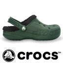 Bayan lined!of specifications with the bulky liner in the fall and winter Slip-ons sandals made by the cross light with the backstrap! Unisex size development /fs3gm ◆ crocs (clocks) baya lined of & men lady's from M4/W6 (22cm) to M11 (29cm)