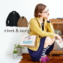 France Aya material Ridge feeling strong, expressive of the Blazers. Engraved with buttons and rounded pockets, stripe pattern lining! And long-sleeved ◆ rivet and surge ( rivet & surge ): カルゼテー jacket