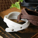 Do you employ nobody to have a feeling of ユーズド so much? !The fashion item ◆ vintage leather bangle that I graze it, and condition can use the cool real leather bracelet with full of a feeling of vintage regardless of man and woman of the leather which I