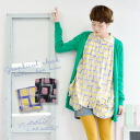 The graffiti checked pattern that the heart that I described in a favorite color beats fast with! Seemed to browse it; softly long shirt long sleeves tunic pattern shirt Lady's cut-and-sew ◆ Zootie (zoo tea) of the silhouette: Graffiti check balloon heme