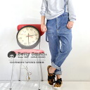 Jeans Lady's べ tea Smith BettySmith tapered pants ◆ Betty Smith (Betty Smith) with the suspender of the tapered silhouette which it is not too slow in the High Rise design which is a lady, and is not too tight: High Rise tapered denim underwear with the