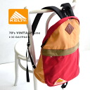 The Kelty constant seller day pack which became the 3COLOR design! It is use unisex rucksack Lady's & men man and woman combined use bag bag backpack OUTDOOR ◆ KELTY (Kelty) 70's VINTAGE Line 3C DAYPACK in コーデュラナイロン superior in the durability