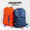 A backpack with the classic atmosphere and functionality. Durable water repellency unisex man and woman combined use rucksack day pack day pack Lady's men arbor pack ◆ patagonia (Patagonia) ARBOR PACK 26L with the pocket for padded note PCs who have been