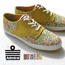 2 stylish shoes mail order Rakuten CYPRUS ◆ Admiral (admiral) CYPRUS II LIBERTY which +2 low-frequency cut sneakers rhinoceros Liberty opera pump Lady's of British traditional Liberty print X suede has a cute