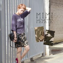 The exquisite combination of the cocoon silhouette which is a camouflage pattern X lady! Pencil skirt middle skirt midiskirt camouflage military cocoon skirt ◆ MIMIMEMETE (ミミメメット) to be able to wear for a feeling of of the stretch cloth which worked easi