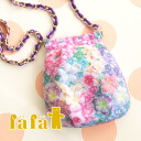 chain bag go coz the iPhone 6 ♪ the cozy porch or party bag why babysue! Diagonally over the iPhone case flower pattern iPhonePouch MT. FLOWER 6241-0006 ◆ fafa ( fe'ee ) :CALYSTA alohapeace iPhone package porch key [multi-sheidflower]