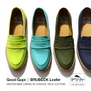 Penny loafer super light weight casual shoes opera pump sneakers Lady's slip-ons loafer cotton ◆ Good Guys (good fellows) BRUBECK canvas using the fiber microin the canvas cotton that the color development is good for an upper part, sole