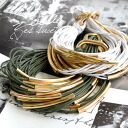 Lady's miscellaneous goods accessory spring and summer ◆ Zootie (zoo tea) for the bracelet bangle bracelet アクセサリーアクセ women who I put a string on several folds, and showed presence with a feeling of weight: Volume string bracelet