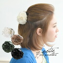 Lady's ◆ Zootie (zoo tea) for the simple barrette banana clip pubic hair clip hair lye Thayer habit Surrey hairpin hair ornament hair slide womens women who only pick up summary hair beautiful woman ♪ pack っと with the flower such as the corsage: Corsage
