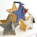 What do you put in a small star-shaped basket? Rattan basket rattan basket basket bag basket bag handbag mini-bag miscellaneous goods star type star ◆ Accommode (アコモデ) who is recommended for an accessory case, interior: Stella basket