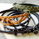 You are cool with small studs casually. 細 beltware accessory Lady's woman miscellaneous goods ◆ mini-studs fake leather slim belt of the fake leather which it is for waist marking, arrangement and is easy to use for browsing