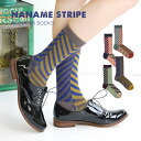 The crew sock which is empty full mode changed with a diagonal X slant. Lady's woman socks footwear footware socks Lady's womens miscellaneous goods accessory ◆ herringbone stripe regular socks
