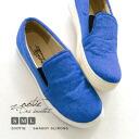◆Shaggy slip-ons sneakers