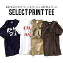 FruitoftheLoom can choose from five types of print, white t-shirt. Tie a feeling & standard casual silhouette ladies short sleeve shirt tops logo T design T shirt ◆ select print t-shirt Fruit of the Loom (フルーツオブザ room)