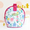 All-purpose mug case with storybook-like original fabric vinyl coated thermal insulated ♪ Mag porch dispenser girls kids baby gifts giveaway 5343-0002 ◆ fafa ( fe'ee ) :Taffy Mag case [White x flower fairy]