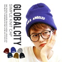 "Feel free to use 365 days a year! acrylic material with soft knit Cap. Shine ""city name logo ' easy-to-use simple & basic design Hat women's knit Cap plain Knit Cap Beanie Winter Global City Knit Cap ◆ city logo NetWatch"
