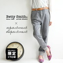 I am like the knit. I am like the sweat shirt. The hem which had quality of being an adult when was rough became the rib; clearly underwear Lady's bottom tin Bonn ◆ apartment department (アパートメントデパートメント) X Betty Smith (Betty Smith) of the on the small sid
