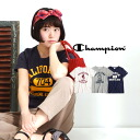 This is the standard casual! Standard silhouette & standard designs can be used in Classic Logo T shirt ladies casual short sleeve cut & sew sporty sports white M L women's spring spring summer spring ◆ CHAMPION (champion) T-SHIRT CW-F306