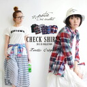 Ringtones turn code Essentials! Wrapped in the accent! Wearing in light! Of course in the lead role! Sheer and use-friendly turning force of ballistic check pattern shirt women's long sleeve shirts tops ◆ Zootie ( SETI ): select check cotton regular t-sh