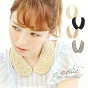 A neck to put go Jazz! necklace designed by Pearl on collar. You can choose from 2 designs of all plain Pearl and beaded MIX ♪ wedding women's parties, party collar accessories ◆ Zootie ( SETI ): Pearl beads round color necklace