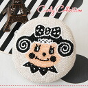 Ichigo-Chan popular curly girls all birds coins case ♪ Palm-size handmade manmaru MiniPCI goods cloth bibs put white White ◆ Curly Collection (Kali collection): beescircle coin purse [monoclostrawberry]