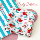 Use the CurlyCollection original textiles! OT and, of course, place mats and to pack lunch ◎ bandana ◆ Curly Collection (Kali collection): original fabric cotton handkerchief the Tulip Strawberry x White]