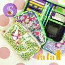 S size Bank enters in the room ◎ organize small handbooks and passport, ticket and card handy! Women's wristlet multicast multi purpose pouch maternal and child Handbook case brand baby ◆ fafa (fe'ee):BABETTE alohapeacediary case S [B/5151]