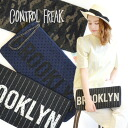 Stacked dot pattern Racing logo with clutch. With plenty of horizontal type with chain handle! Ladies bag bags handbags canvas denim camouflage with ◆ CONTROL FREAK (freak): dottulleray yard logo clutch bag