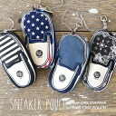 """Reel with glove compartment the shape of cute """"shoes"""". Purse coin purse coin purse put the IC cards, transparent Windows Gadgets canvas canvas shoes do gadgets gifts Camo Leopard ◆ case with MiniPCI slip-on sneakers"""