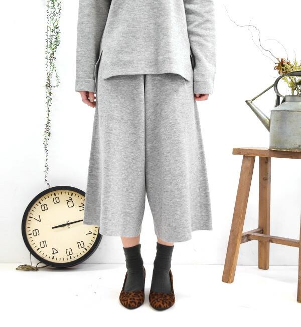 knit gaucho pants - Pi Pants
