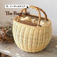 BAGMATI(バグマティー):バンブーハンドルかごバッグ