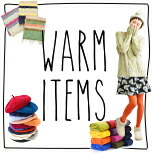 WARM ITEMS ���W