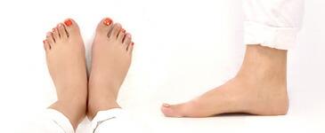 千葉ちゃんの足