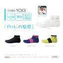 R × L / SOCKS earlier socks trr-10G Super solid toe side solid fabrics