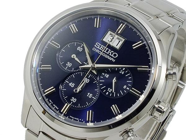 レビュー投稿で次回使える2000円クーポン全員にプレゼント 直送 セイコー SEIKO クロノグラフ 腕時計 SPC081P1 【腕時計 海外インポート品】