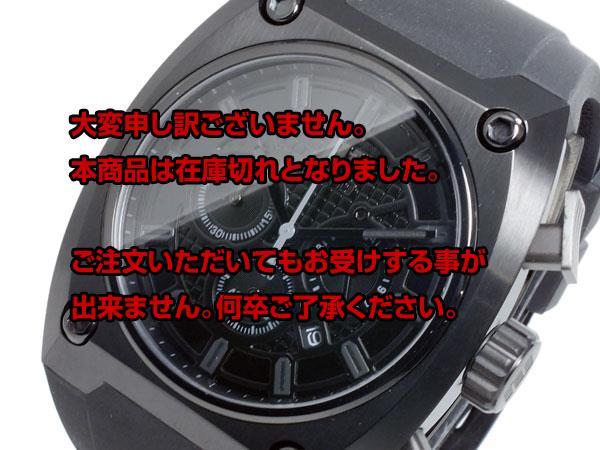 レビュー投稿で次回使える2000円クーポン全員にプレゼント 直送 ヌーティッド NUTID THE EDGE クオーツ メンズ クロノ 腕時計 N-1402M-A BK 【腕時計 国内正規品】