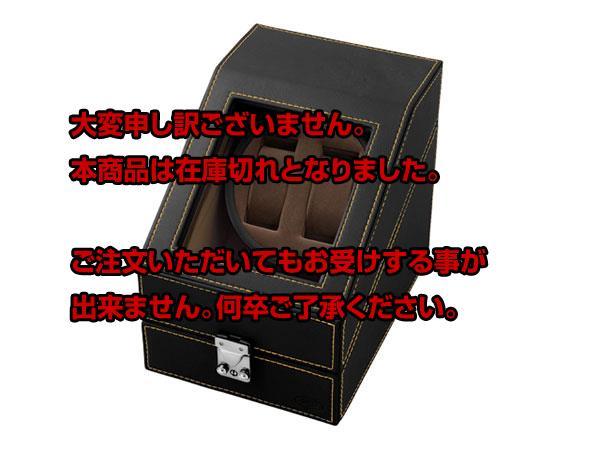 レビュー投稿で次回使える2000円クーポン全員にプレゼント 直送 SPI 2連 ワインディングマシーン ワインダー SP-43012LBK 【腕時計 腕時計関連用品】