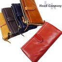 호크 컨 퍼니 HAWK COMPANY 접는 롱 가죽 지갑
