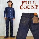 The full count FULLCOUNT 0105 jeans denim 1953's wide straight jeans (40-inch)