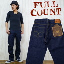 Full count FULLCOUNT 1101 jeans denim Middle straight jeans (27-38 inches)