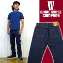 Warehouse WAREHOUSE jeans standard 800 straight jeans G bread denim