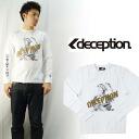 DECEPTION 데세프션프린트 긴소매 T셔츠 「NATIVE」