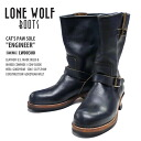"Review coupon for merchandise LONEWOLF BOOTS ロンウルフ boots Engineer Boots ブラックキャッツポウソール CAT's PAW SOLE ""ENGINEER"""