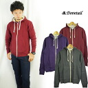 ダブテイル DOVETAIL double zip sweat shirt (trainer) parka